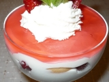 Pohárek s jahodami recept