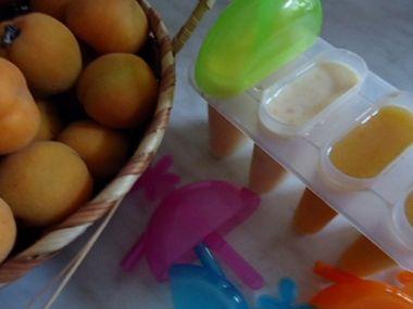 Meruňkové nanuky