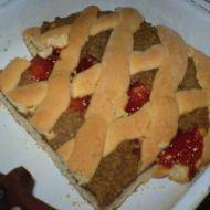 Linecký mřížový koláč recept