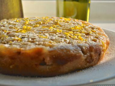 Obrácený angreštový koláč