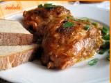 Kuřecí kousky pečené v Cibuláku a v zelí recept