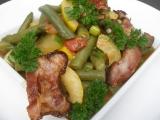 Vydatný sezónní salát recept