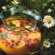 Letní bowle bez alkoholu recept
