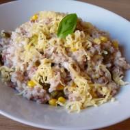 Rychlé rizoto z vepřové konzervy recept