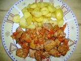 Maso s kečupem recept