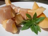Meloun s prosciuttem recept