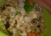 Těstoviny se smetanovo  nivovou omáčkou se špenátem recept ...