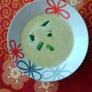 Krémová pórková polévka se smetanou recept
