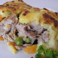 Vepřové na zelenině s bramborovou krustou recept