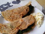 Špaldové tortilly se špenátem a balkánským sýrem recept ...