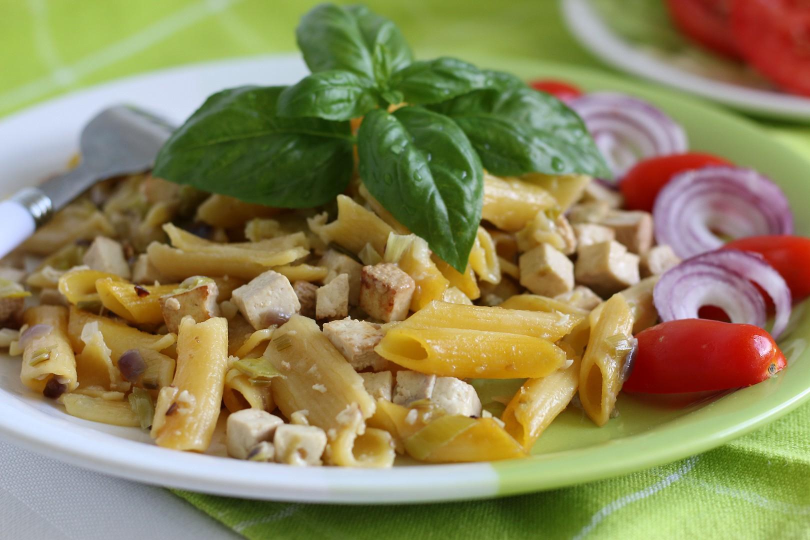Zapečené kukuřičné těstoviny recept