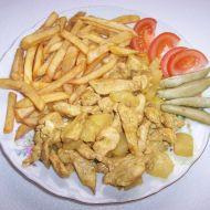 Kuřecí prsíčka s ananasem recept