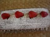 Piškotová kakaová roláda recept