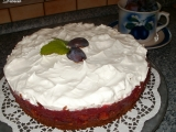 Perníkový dort s opilým švestkovým želé recept