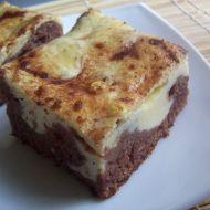 Karobový koláč s tvarohem recept