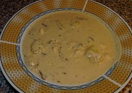 Kyselá polévka se smaženými vajíčky recept