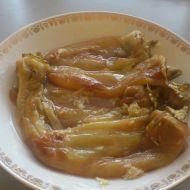 Pečené papriky v zálivce s česnekem recept