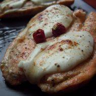 Losos s mozzarellou recept