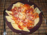 Italské conchiglioni s kuřecím masem recept