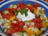 Zeleninový salát.... recept