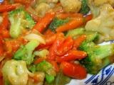 Smažená zelenina recept