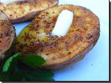 Maminčiny pečené brambory recept