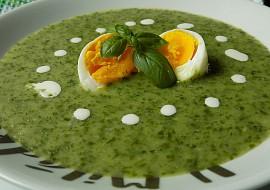 Krémová polévka z listového salátu recept