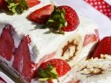 Jahodovo-tvarohovy dezert recept