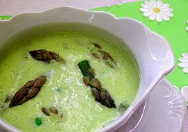 Chřestová polévka s hráškem recept