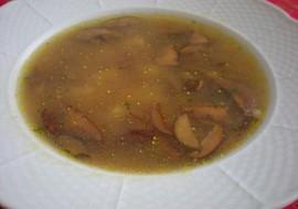 Sváteční hříbková polévka recept