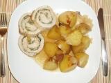 Vepřová rolka se špenátem recept