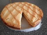 Mřížkovaný tvarohovo-rumový koláč recept