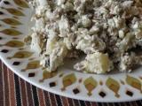 Čočkový salát s cottage a zeleninou recept