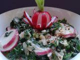 Čerstvý špenát s ředkvičkami recept