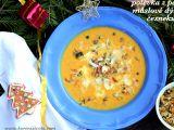 Polévka z pečené máslové dýně a česneku recept