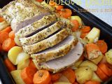 Vepřová pečeně s brambory a mrkví recept