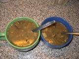 Polévka z pohanky a hub recept