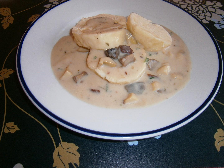 Hříbkajda (hříbková omáčka) recept