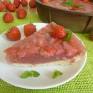 Svěží jahodový koláč recept