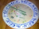 Krémová kuřecí česnečka s vůní bylinek recept