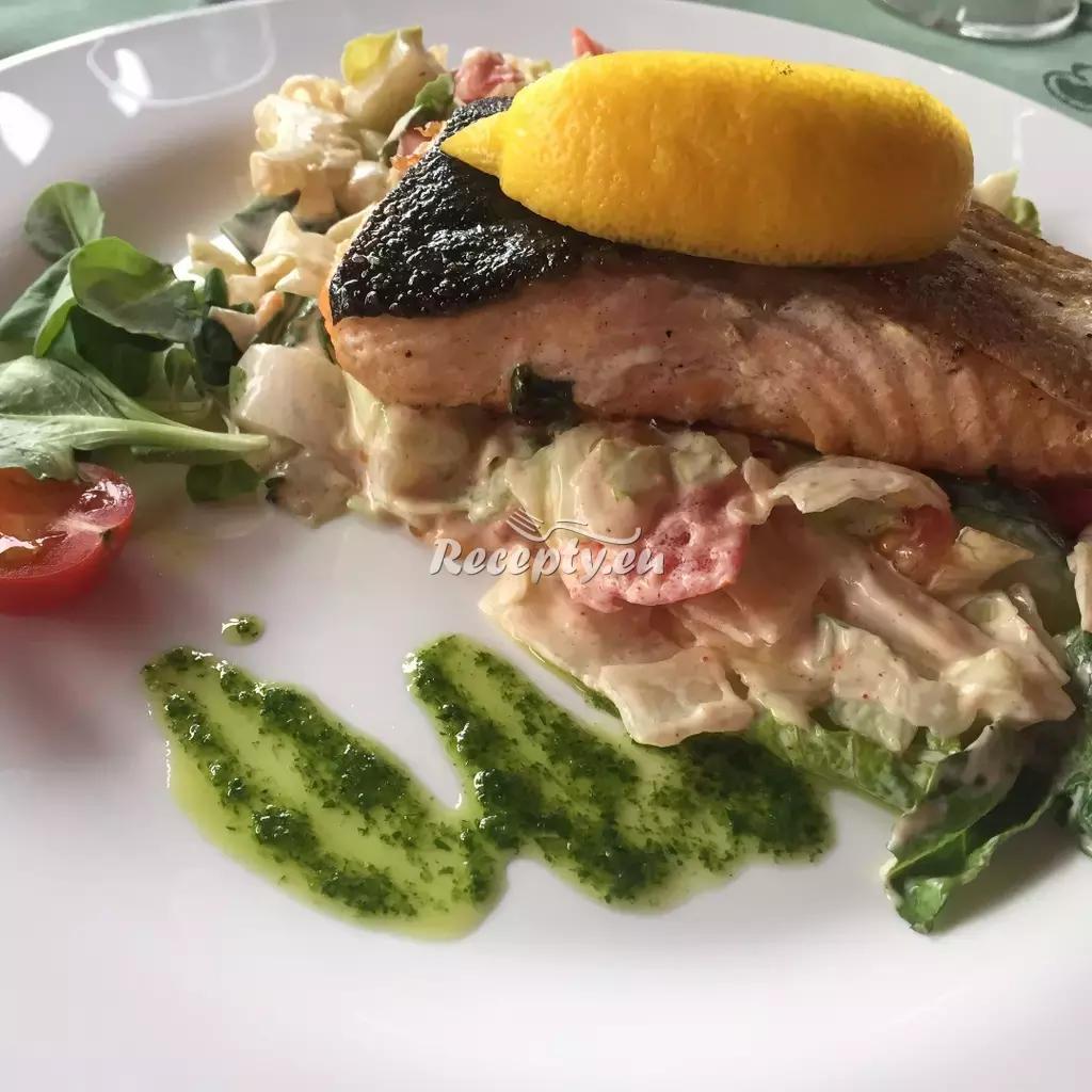 Grilovaný losos recept  grilování