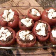 Zapečená rajčata plněná mletým masem a sýrem recept