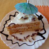 Letní dort s čerstvým ovocem recept