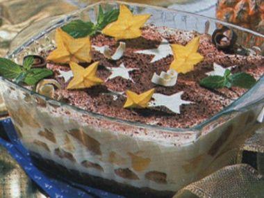 Slavnostní Tiramisu vánoční