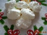 Kokosky  sněhové pusinky s kokosem recept