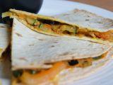 Quesadilla se zeleninou a batáty a česnekovým dipem recept ...