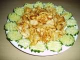 Celerové chipsy recept