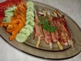 Grilovaný chřest ve slanině recept
