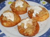 Kynuté lívanečky s jablky recept