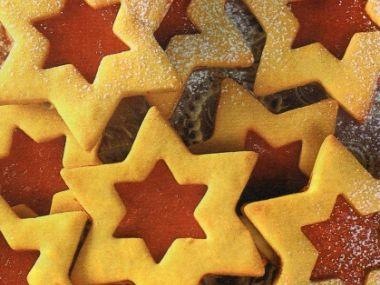 Linecké hvězdičky s marmeládou